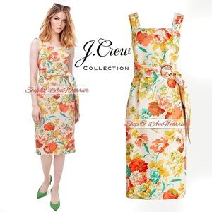 J.Crew Collection NWT summer floral midi dress
